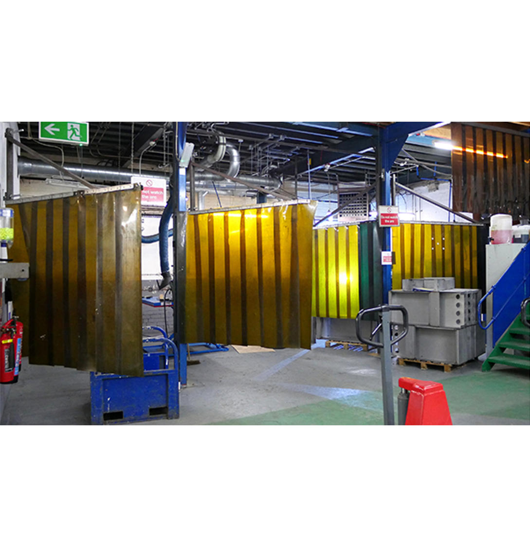 Photograph of Ritherdon welding booths